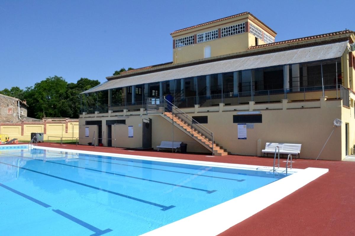 Aquasos gestiona els serveis de socorrisme i control d'entrades de la piscina del Molí Nou d'Igualada